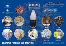 Ve Clenex 100, sealed bottle, 1 liter