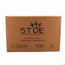 Stoe Latex Non Sterile Ambidextrous Examination Gloves