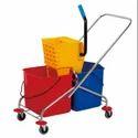 Bucket Mop Wringer Trolley