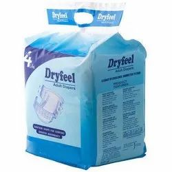 Dry Feel Adult Diapers XL
