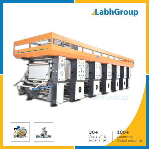 Multi-Colour High Speed Rotogravure Printing Machine