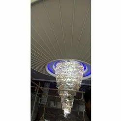 LED Glass High Ceiling Jhoomer