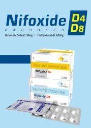 NIFOxide- D4 Capsule Diclofenac Sodium 50mg   Thiocolchicoside 4mg