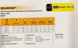 High pressure wire  braid mine  multipurpose hose series 7284