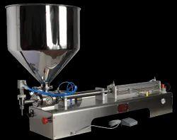 Piston Type Paste Filling Machine