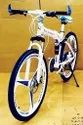 Mercedes Benz White Foldable Cycle