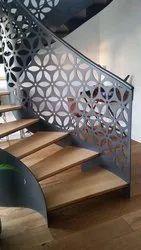 Stairs iron Designer Railing, Floor