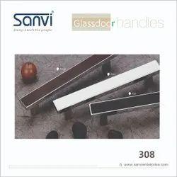 Sanvi Aliminium Aluminium Glass Door, For Home