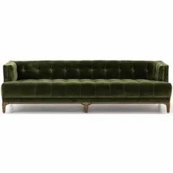 ROYAL COMFORT Wooden Luxurious 3 Seater Sofa, For Home