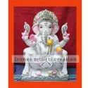 White Stone Marble Ganesh Statues