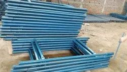 Color Galvanized Blue H Frame Scaffolding, 3x1.5 Feet (lxw)