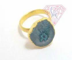 Solar Quartz Gemstone Rings