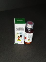 PCM 250mg,Phenylephrine 5mg & CPM 2mg Suspension