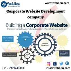 Corporate Website Development Company, With 24*7 Support