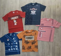 Boys Round Neck T-shirts Cotton Hosiery Half Sleeves Kids T Shirts, Size: 10- 12year