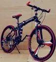 Ferrari Black Foldable Cycle