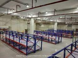 1219 Mm standard Slotted Angle Rack, 100-200 Kg Udl