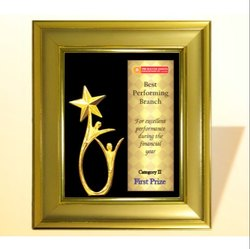 FP 10676 Golden Award Memento