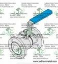 Titanium Ball Valve , Two Pieces Full Bore Ball Valve , Astm B381 Grade F2 Or F5 Ball Valve