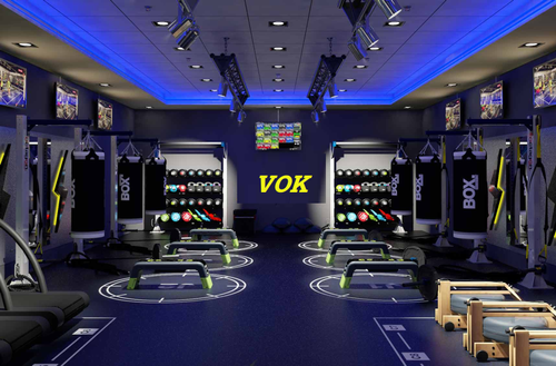 Gym Interior Designing Services