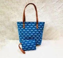 Ikkat Fancy Tote Bags