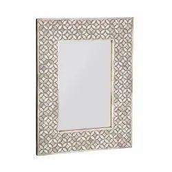 CII-871 MDF Resin Wall Mirror