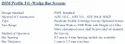 DSM Profile Tri -Wedge Bar Screens