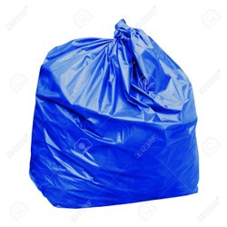 Disposable Garbage Bags - Blue