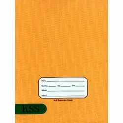 English 176 Pages Exercise Notebook, For School