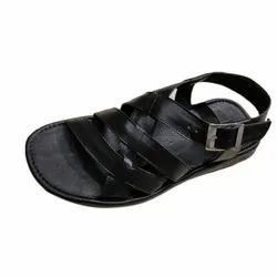 Pu Men Casual Wear Leather Sandals, Size: 6-10