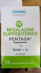 Pentasa 1GM Suppository ( Mesalazine Suppositories )