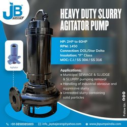 JB PUMPS 25m Agitator Slurry Pumps, JBAS, 2