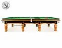 JBB Standard Size Gold Finished Snooker Table