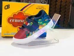 Kids Velcro Party Wear Shoes, Article: Cubone, Size: 6-11