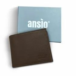 Basic Men's wallet - Dark Brown
