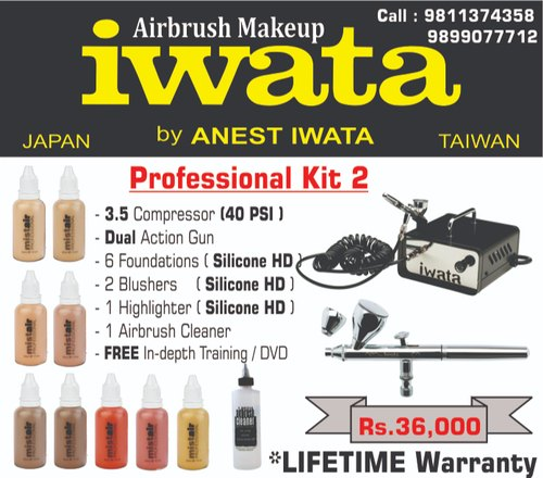 Iwata Professional Airbrush Makeup Kit