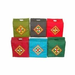 Cotton Handicraft Shopping Bag, Size: 16 X 16 Inches