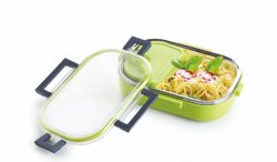 Amazing Mall Plastic Smil Dady Steel Lunch Box, For School, Size: 7 Inch