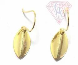Golden Dangle Drop Earrings