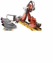 Robotic Railway Car Line Welding Machine