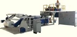 Air Bubble LLDPE LDPE Sheet Film Machinery