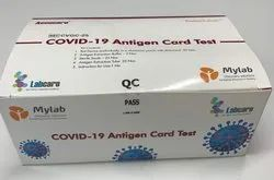 MyLab accucare Covid 19 Rapid Antigen Kit, ICMR Approved