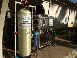Stainless Steel Reverse Osmosis Plant, For Industrial, RO Capacity: 200-500 (Liter/hour)