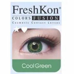 隐形眼镜-冷绿色,FreshKon颜色化妆品隐形眼镜