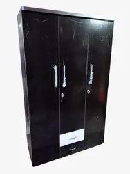 Standard Black Wooden Cupboard