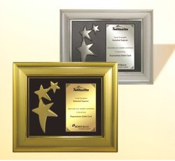 FP 10692 Golden & Silver Award Memento