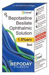 Bepotastine 1.5% Eye Drops (Bepoday)