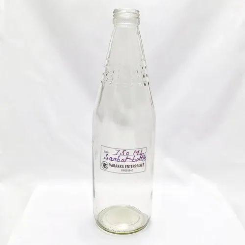 750 ml Sharbat Glass Bottle