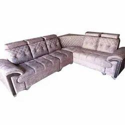 Stainless Steel Modern Designer Sofa Set, For Home, Size: 8 X 7 Feet