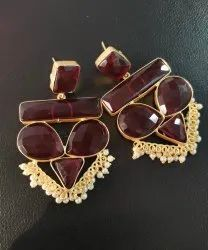 Monalisa Stone Earrings